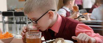 Обеды в школе