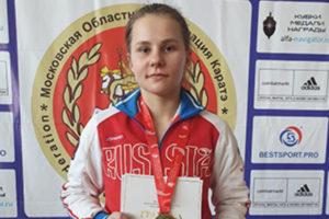 Пять медалей на областном чемпионате завоевали каратисты из спортшколы Горки-10