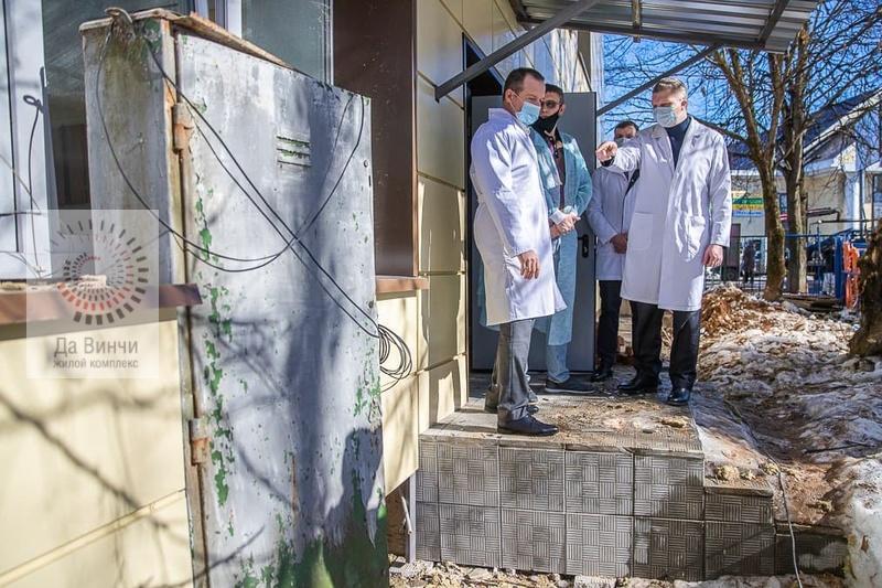 Ремонтные работы в стационаре Звенигородской больницы должны завершить до конца месяца