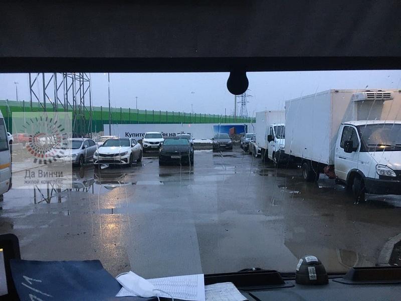 В Одинцово-1 с разворотной площадки общественного транспорта эвакуировали автомобили