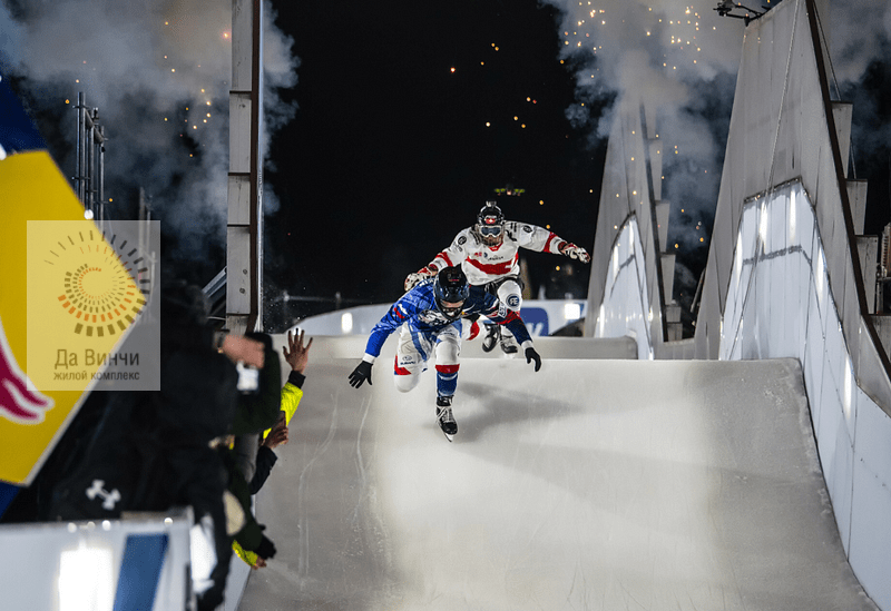 Чемпионат мира по скоростному спуску на коньках прошел в парке «Патриот»