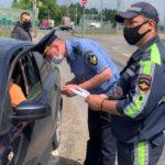 Сотрудники ГИБДД ловили таксистов-нарушителей в Одинцовском округе