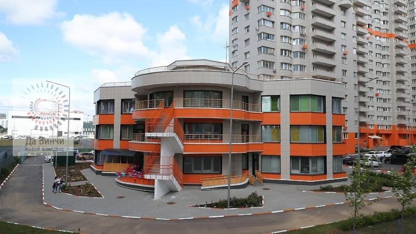 Детский сад в ЖК Западные ворота столицы (вблизи)