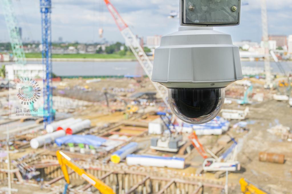 Онлайн камеры на стройках Подмосковья