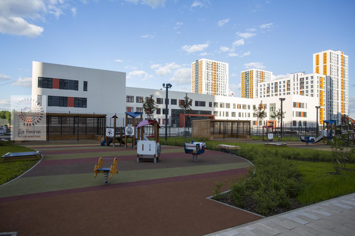 Новый корпус школы №3 в Одинцово-1
