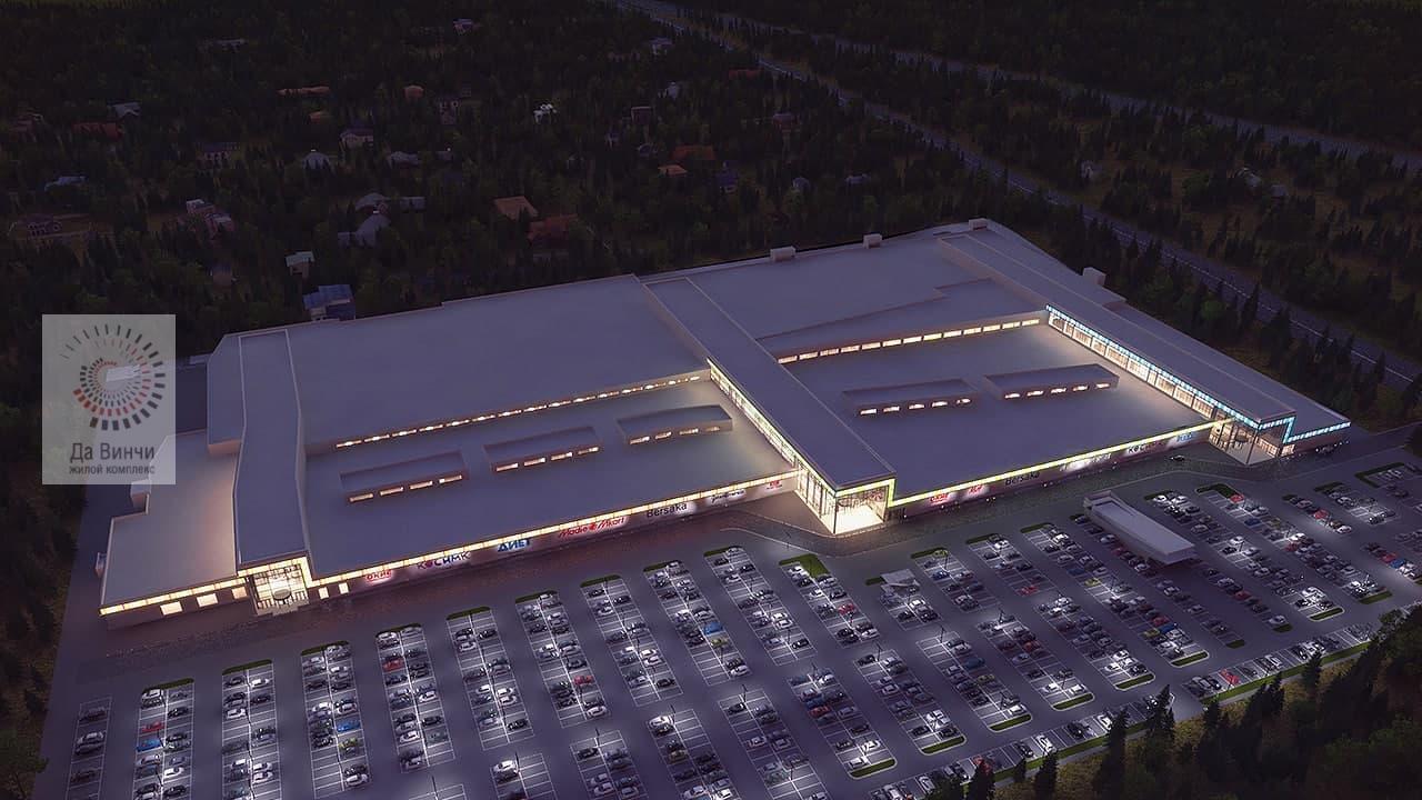 Проект строительства ТРК в с. Юдино