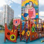 В Новой Трехгорке открылась новая детская площадка