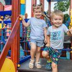 Две новые детские площадки открылись в Одинцово