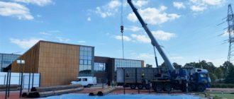 Cтроительство нового учебного корпуса гимназии Примакова